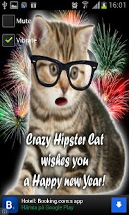 Crazy Hipster Cat- screenshot thumbnail