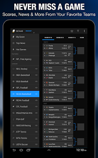theScore: Sports & Scores - screenshot thumbnail