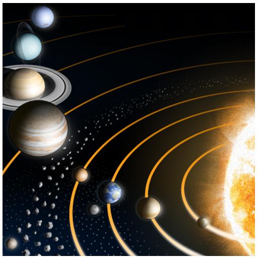 书籍の惑星の宇宙の事実 LOGO-記事Game