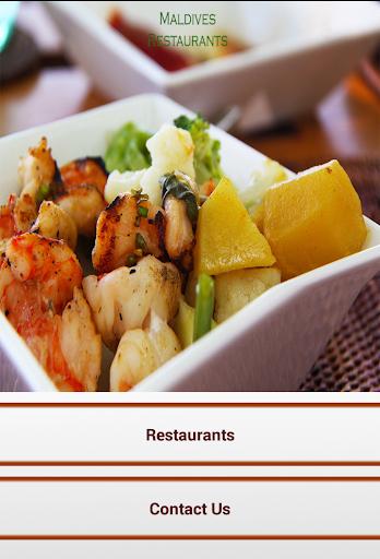 Maldives Restaurants