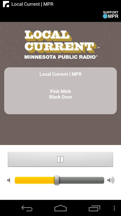 MPR Radio - screenshot