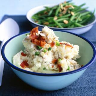 Potato Salad with Sour Cream and Scallions