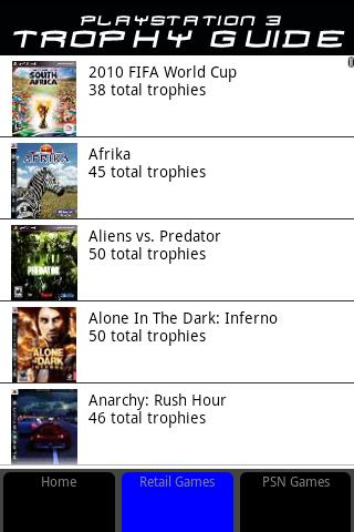 PS3 Game Trophy Guide - screenshot
