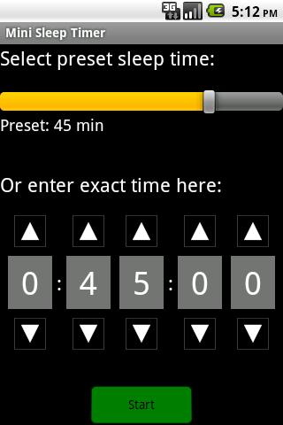 Mini Sleep Timer