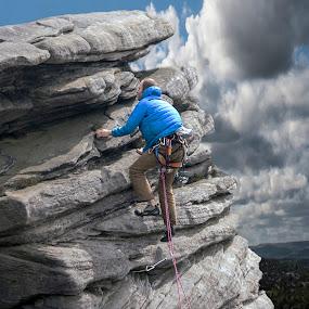 by Eddie Leach - Sports & Fitness Climbing