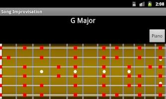 Screenshot of Song Improvisation
