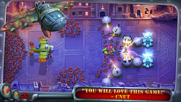 Screenshot of Fieldrunners 2