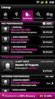 Screenshot of TouchTunes Karaoke