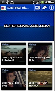 SuperBowl-Ads.com App - screenshot thumbnail