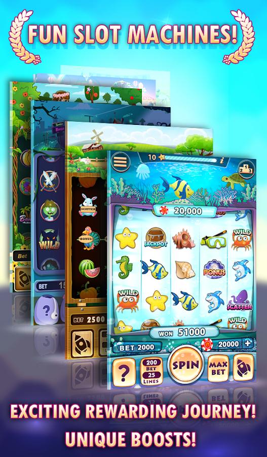 Arcader Slots - Play Real Casino Slot Machines Online