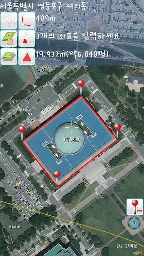GPS 지도 측정 Grace
