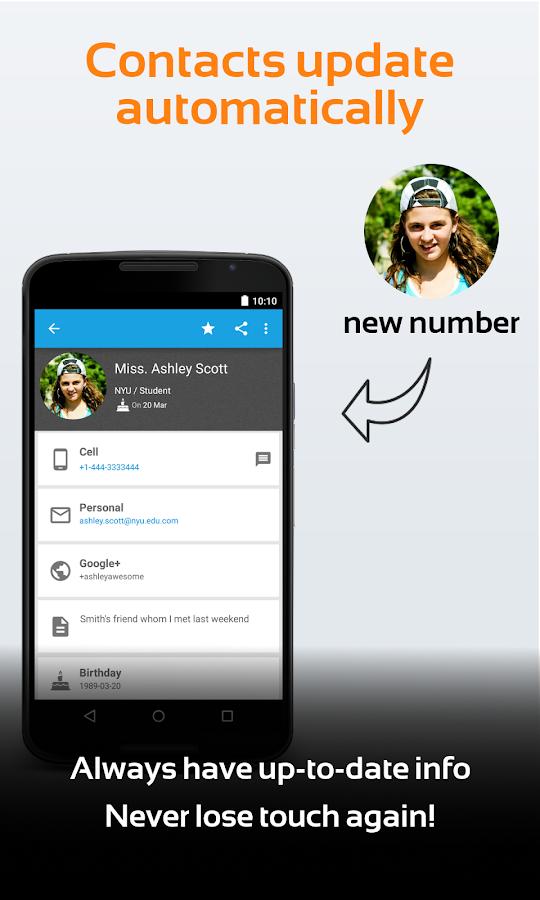 Contacts Transfer Backup Sync- screenshot