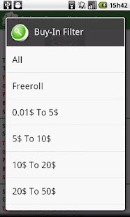 Poker Freeroll Agenda- screenshot thumbnail