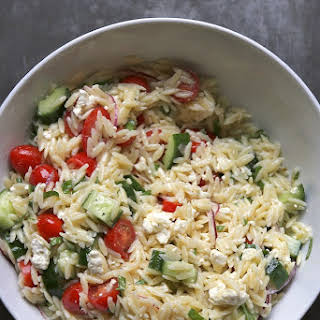 It's Not Summer Yet Greek Pasta Salad.