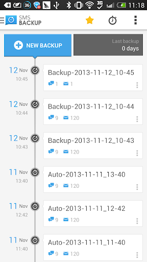 SMS Backup + - Google Play Android 應用程式