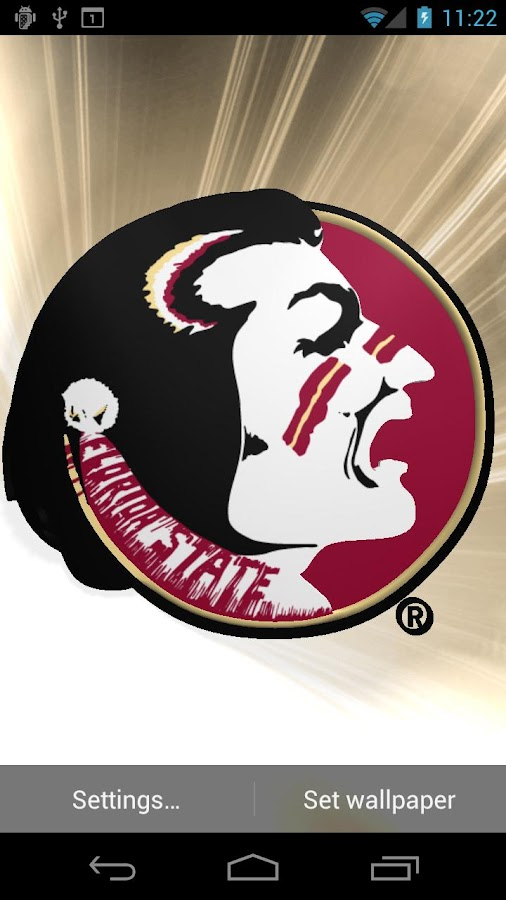 Florida St Seminoles LWP &Tone- screenshot