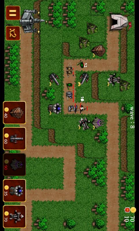 Medieval Castle Defense- screenshot