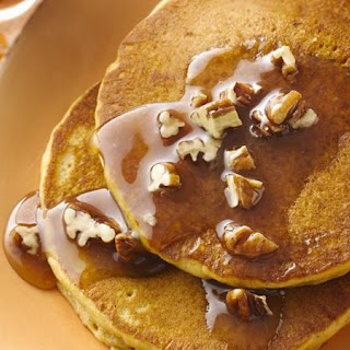 Spicy Pumpkin Pancakes