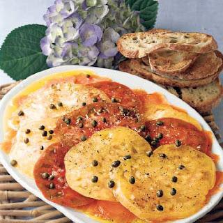 Tomato & Smoked Salmon Carpaccio
