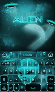 Alien-Space-GO-Keyboard-Theme 2