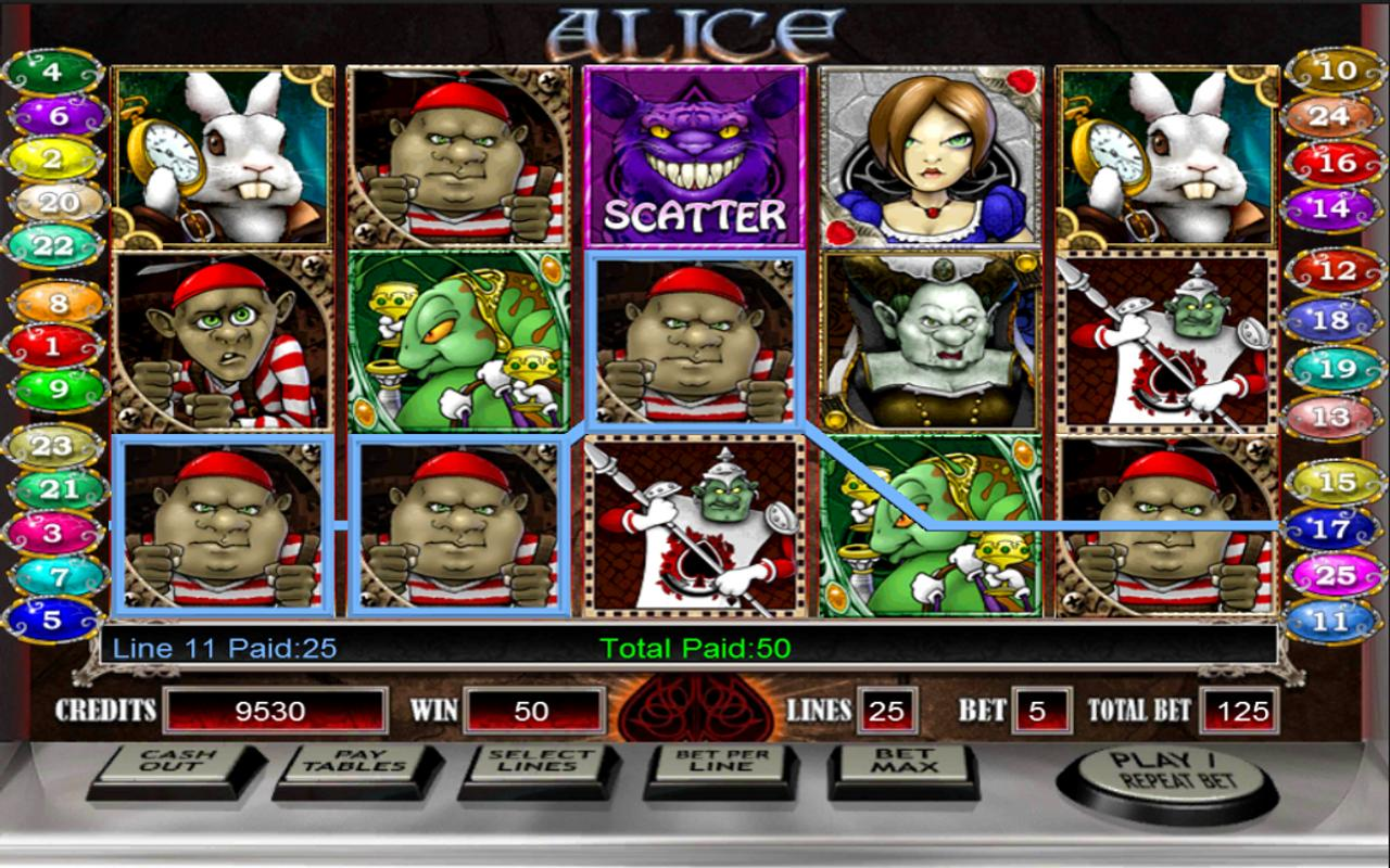 Alice - HD Slot Machine- screenshot