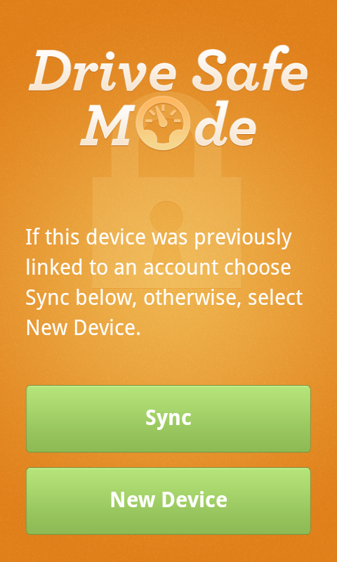 DriveSafe Mode- screenshot