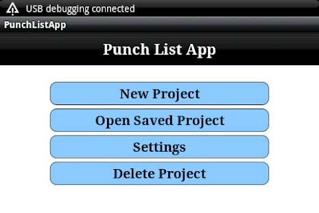 Construction Punch List - screenshot thumbnail