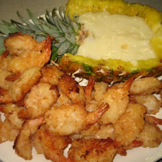 Red Lobster Parrot Bay Coconut Shrimp and Sauce