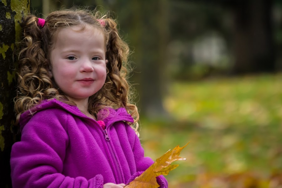 Fun in the Fall by Scott Morgan - Babies & Children Children Candids ( girl, fall, little, leaf, kid,  )