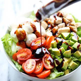 Caprese Avocado Salad.