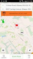 Screenshot of Capital Taxi Ottawa