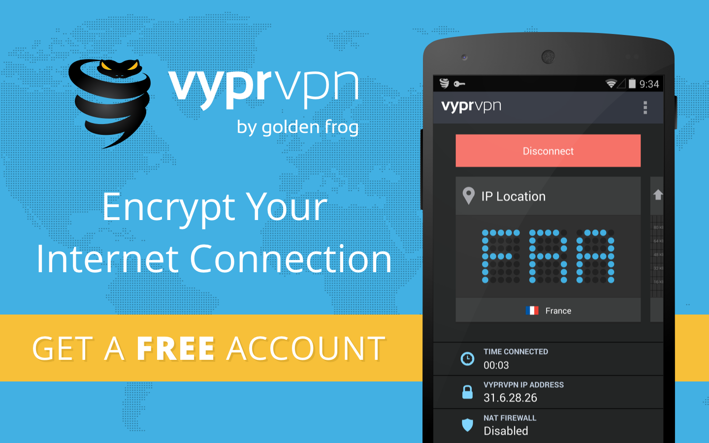 VyprVPN Free Secure VPN- screenshot