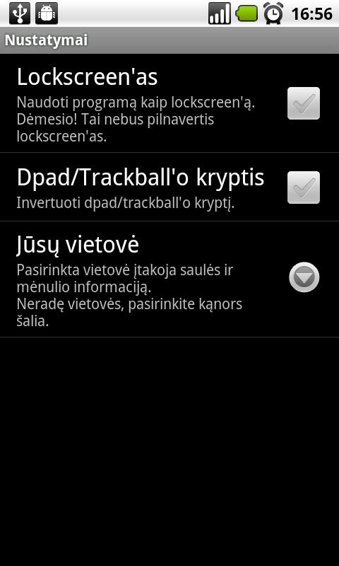 Šiandien- screenshot
