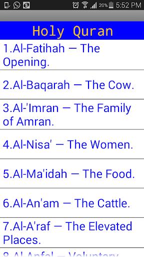 Share Quran English