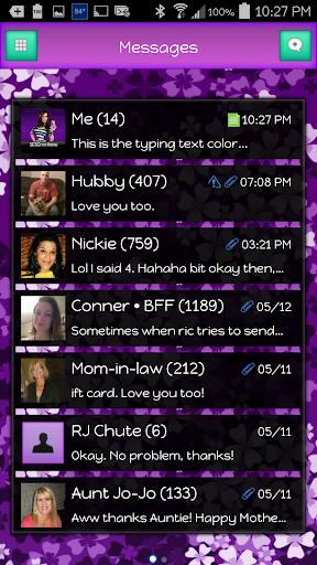 GO SMS - Classic 3