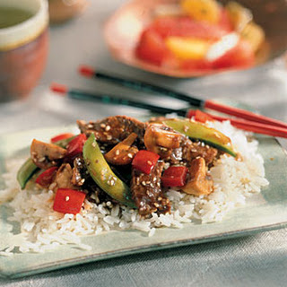 Gingered Beef Stir-Fry
