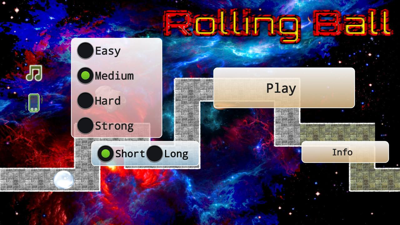 Rolling Ball - screenshot