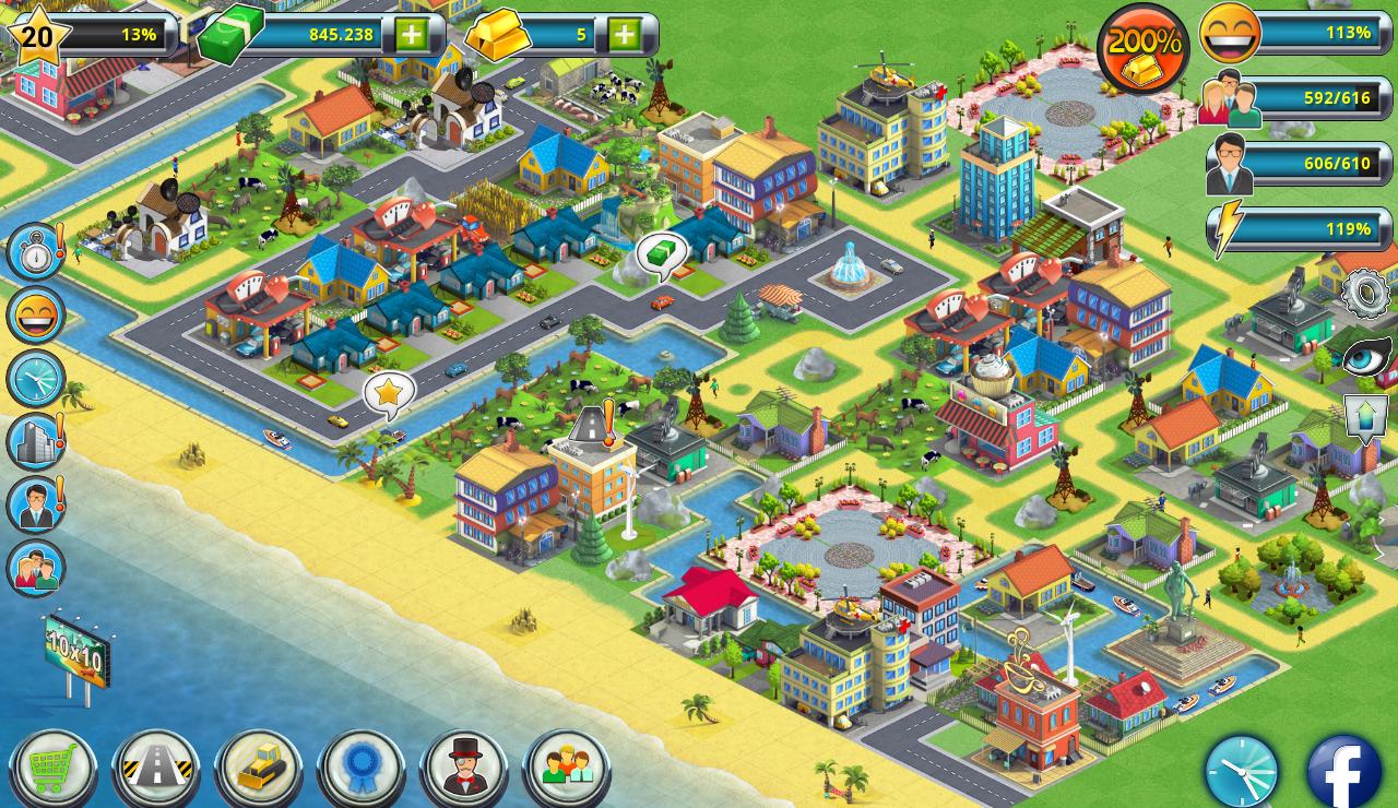 city island 2 building story sim town builder revenue