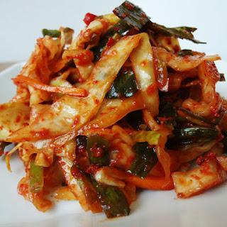 Yangbaechu-kimchi
