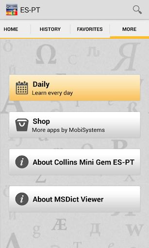 【免費書籍App】Spanish<>Portuguese Dictionary-APP點子