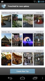 Trippin - Yelp Trip Planner - screenshot thumbnail