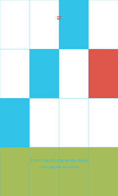 Piano Tiles Blue - screenshot