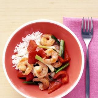 Shrimp and Ginger Stir-Fry