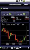 Screenshot of TradeFX