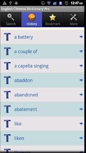 玩書籍App|English Chinese Dictionary Pro免費|APP試玩