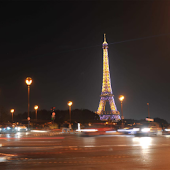 Paris City Night Wallpaper
