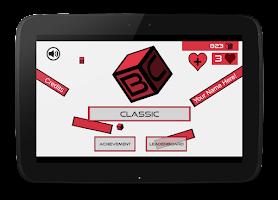 Screenshot of BouncyCube