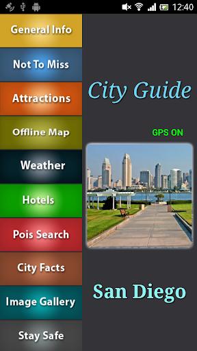 San Diego Offline Guide