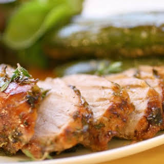 Gingery Roast Pork with Thyme.