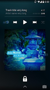 NRGplayer music player - screenshot thumbnail